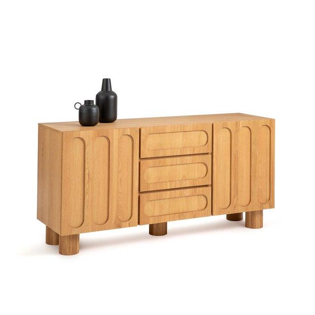Μπουφές από μασίφ ξύλο δρυ, Cannelo