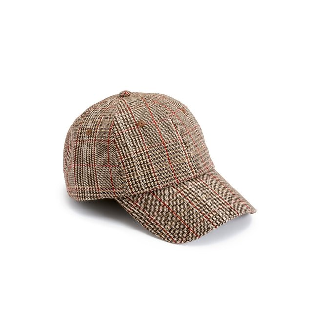 Καπέλο με μοτίβο πρενς-ντε-γκαλ
