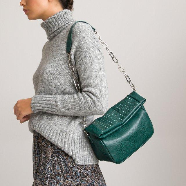 Τσάντα με τρουκ και αλυσίδα ώμου