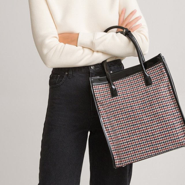 Τσάντα με μοτίβο πρενς-ντε-γκαλ
