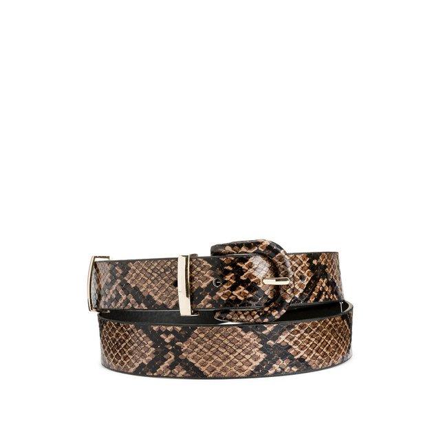 Ζώνη με snake print