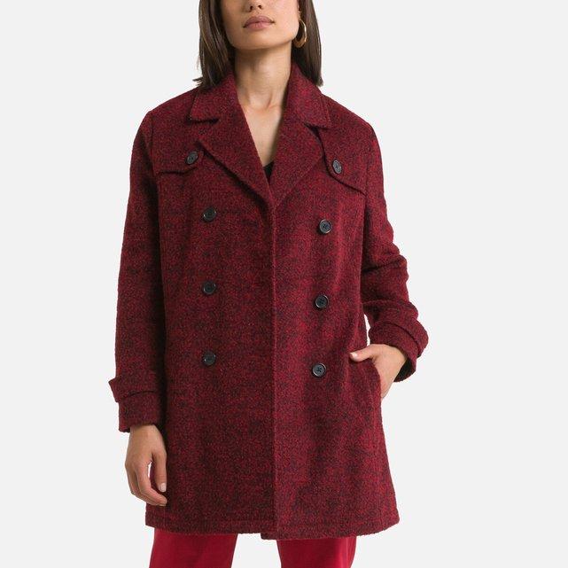 Μίντι παλτό με κουμπιά για τις ενδιάμεσες εποχές