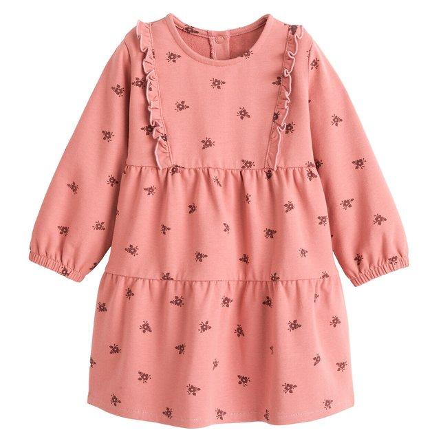 Εμπριμέ φόρεμα από οργανικό βαμβάκι, 3 μηνών - 4 ετών