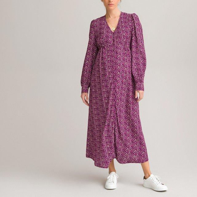 Μακρύ φόρεμα εγκυμοσύνης