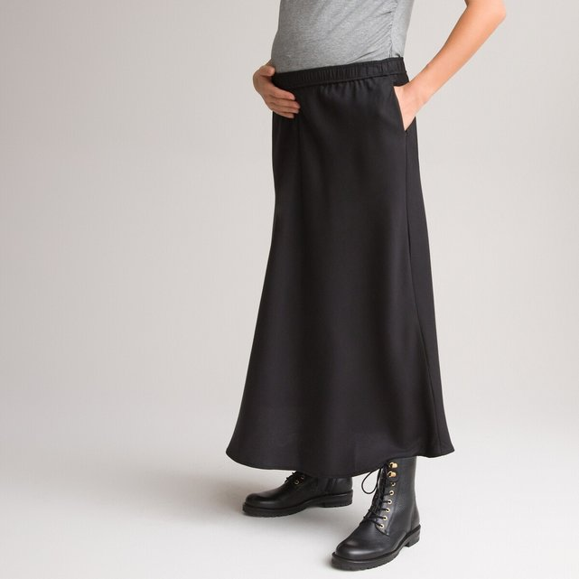 Μακριά φούστα εγκυμοσύνης από lyocell
