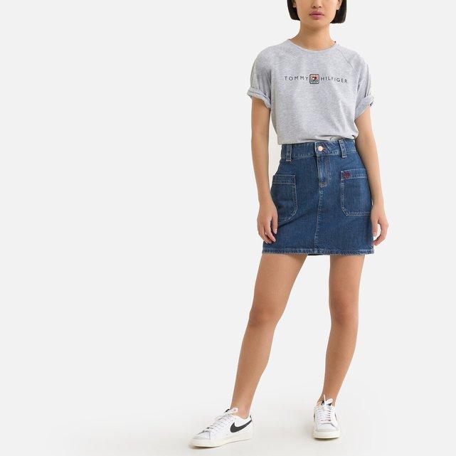 Κοντή τζιν φούστα, 10-16 ετών