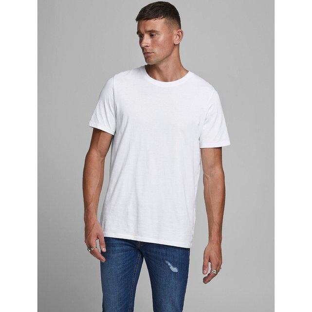 Μπλούζα με στρογγυλή λαιμόκοψη από βιολογικό βαμβάκι