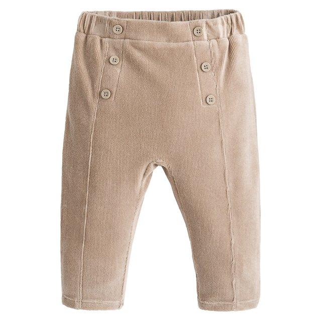Βελούδινο παντελόνι jogpant, 1 μηνός - 3 ετών