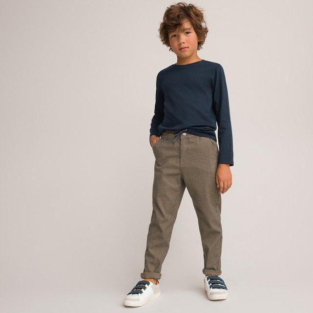 Ίσιο καρό παντελόνι, 3-12 ετών