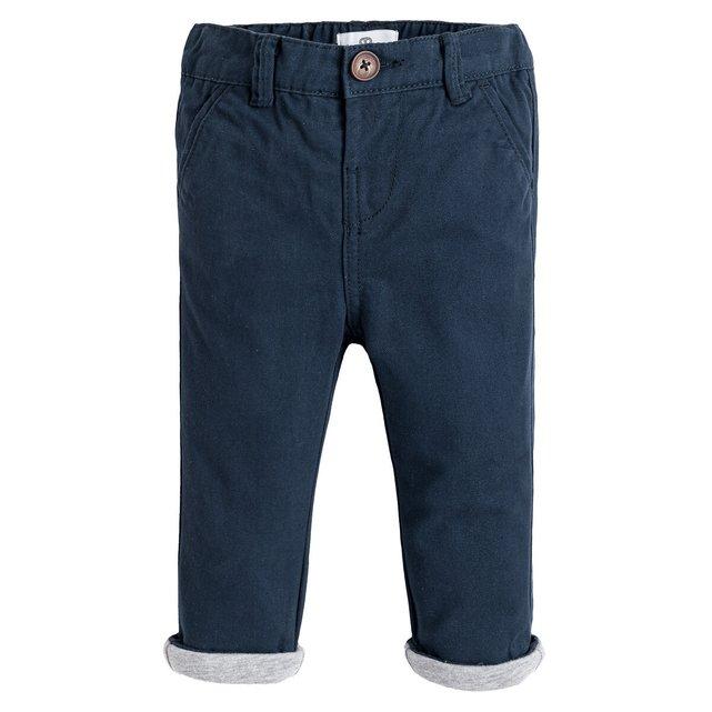 Παντελόνι με λοξές τσέπες, 3 μηνών - 3 ετών
