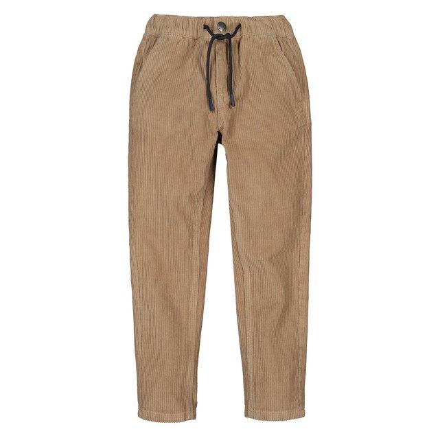 Κοτλέ παντελόνι σε ίσια γραμμή, 3-12 ετών