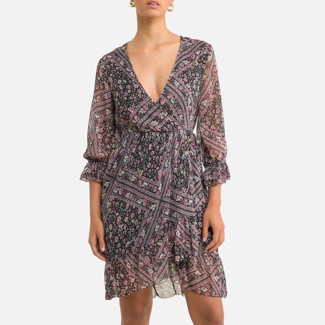 Κοντό φόρεμα με φλοράλ μοτίβο
