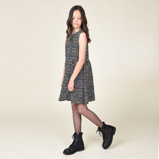Πλεκτό φόρεμα 2 σε 1, 8-16 ετών