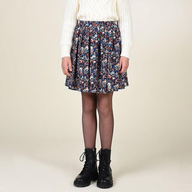 Κοντή φλοράλ φούστα, 8-16 ετών
