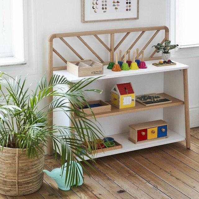 Ραφιέρα για παιχνίδια, Montessori