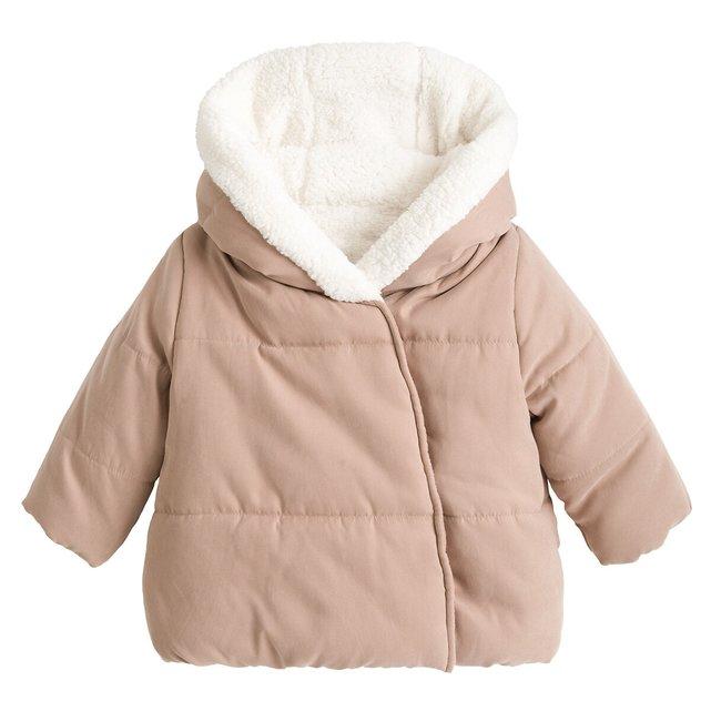 Ζεστό μπουφάν με κουκούλα, 1 μηνός - 2 ετών
