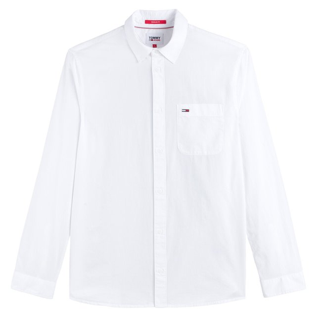 Slim πουκάμισο από ποπλίνα, Essential