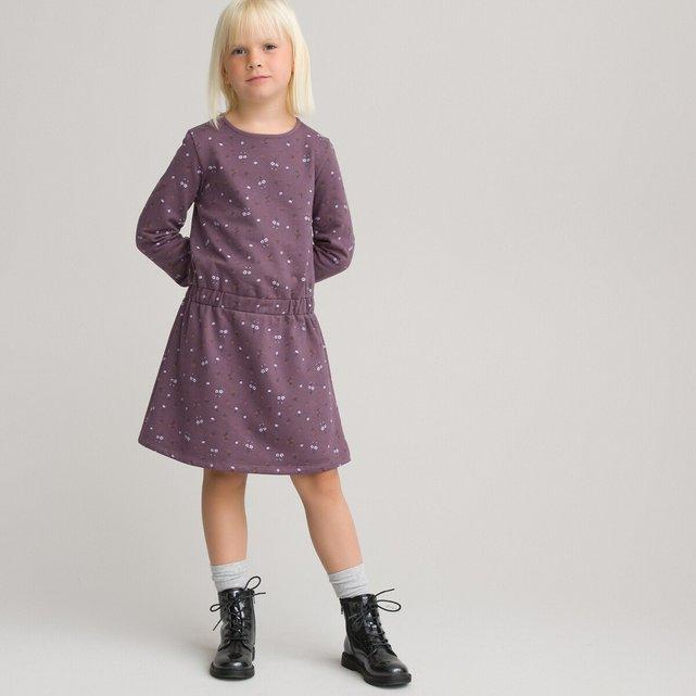 Εμπριμέ φόρεμα από οργανικό βαμβάκι, 3-12 ετών