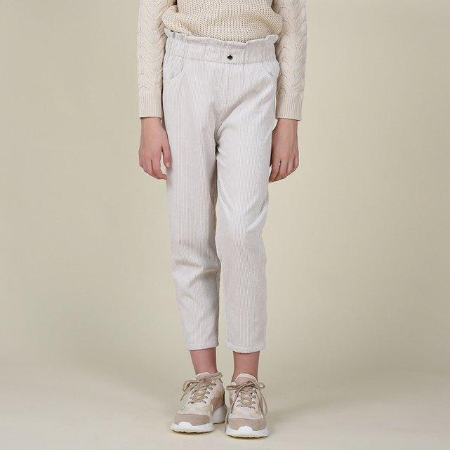 Κοτλέ παντελόνι σε ίσια γραμμή, 8-16 ετών