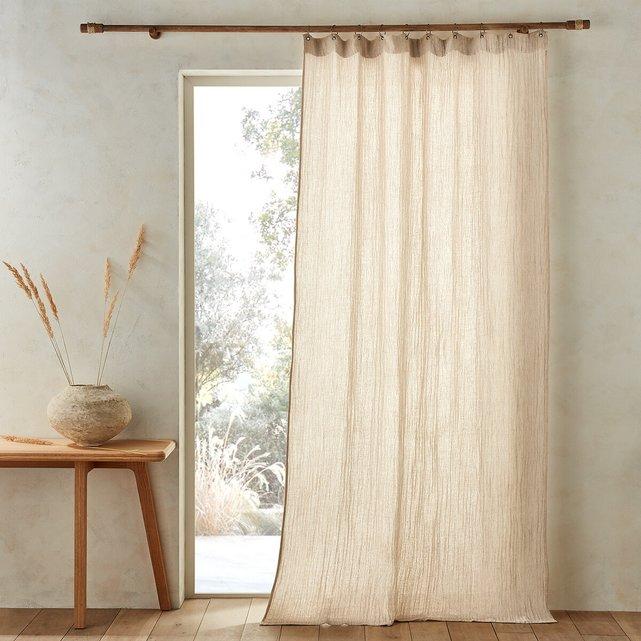 Κουρτίνα από βαμβάκι λινό, Minoe