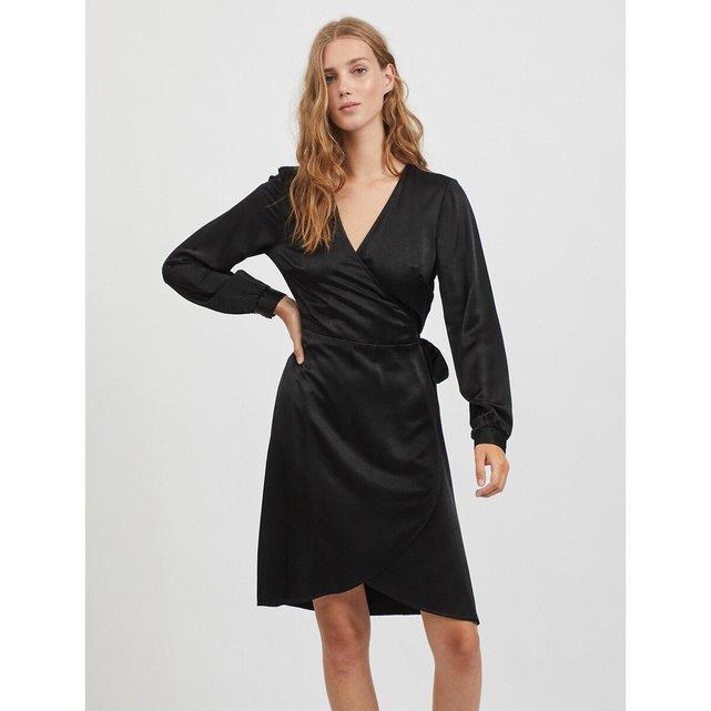Σατέν φόρεμα-φάκελος
