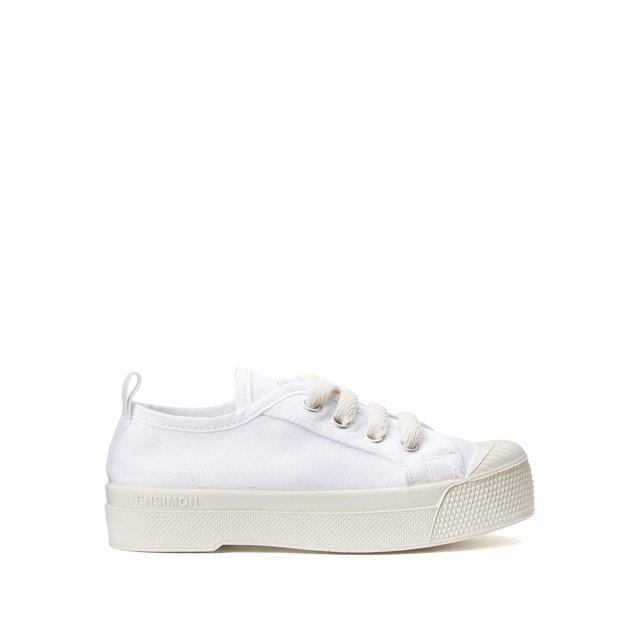 Πάνινα παπούτσια με ελαστικά κορδόνια, B79 Romy