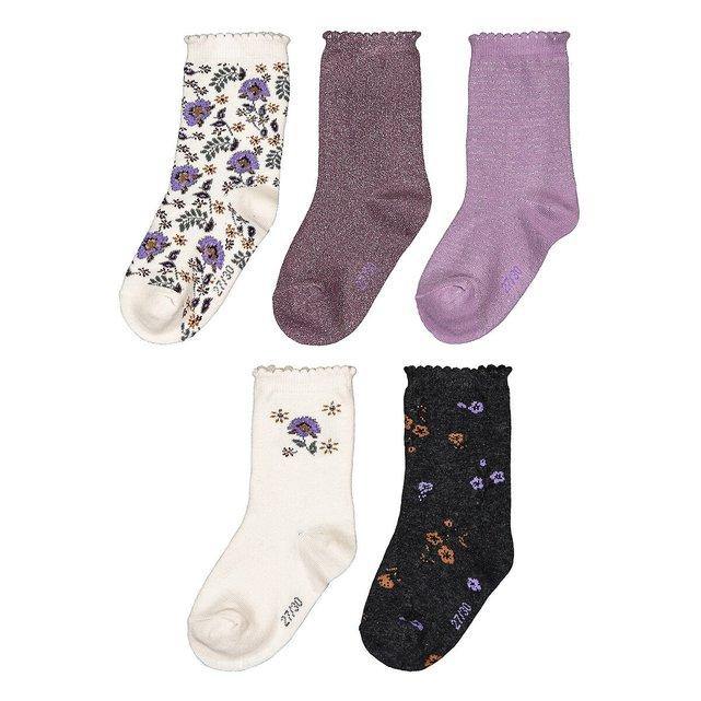 Σετ 5 ζευγάρια κάλτσες, 23|26 - 35|38