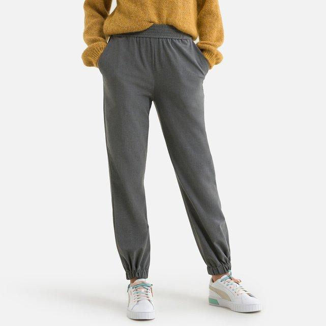 Χυτό παντελόνι με λάστιχο στη μέση