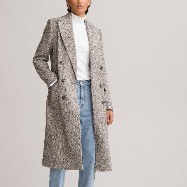 Παλτό με διπλό κούμπωμα