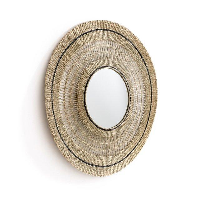 Στρογγυλός καθρέφτης από ψάθα, Jutlo