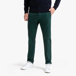 Παντελόνι chino σε ίσια γραμμή