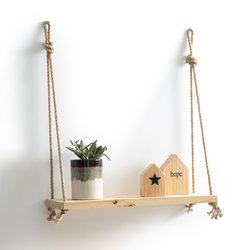 Mareo pine and sisal shelf