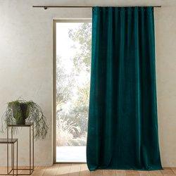 Lavezzi Velvet Single Curtain with Little Eyelets