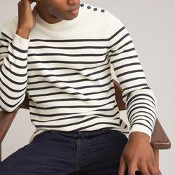 Breton πουλόβερ από βιολογικό βαμβάκι
