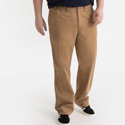 Βαμβακερό παντελόνι σε ευθεία γραμμή