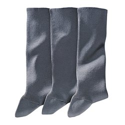 Σετ από 3 ζευγάρια με κάλτσες από βαμβάκι πενιέ