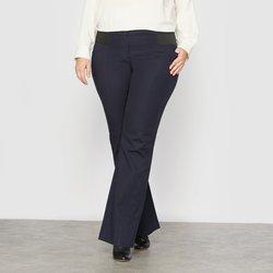 Εφαρμοστό παντελόνι bootcut