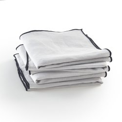 Pack of 4 Suzy Pre-Washed Linen Napkins