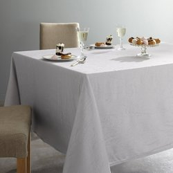 Ceryas Crinkled Polyester Tablecloth.