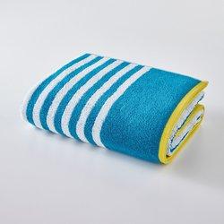 Striped 100% Cotton Bath Sheet