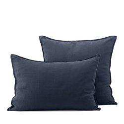 HELM Single Pillowcase In Faded Hemp Fabric