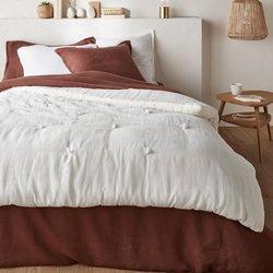 Κάλυμμα κρεβατιού από προπλυμένο λινό, ABELLA