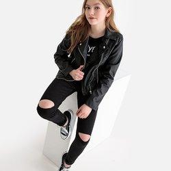Skinny τζιν με σκισίματα, 10-16 ετών