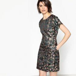 Φλοράλ στενό φόρεμα