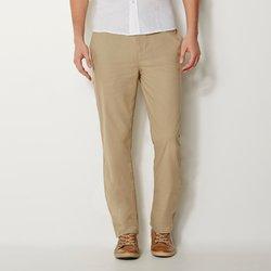 Ίσιο παντελόνι με λάστιχο στη μέση