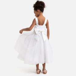 Φόρεμα από σατέν και τούλι, 3-12 ετών