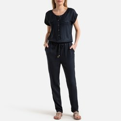 Softly Draping Jumpsuit