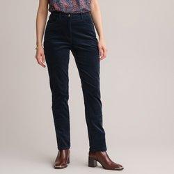 Stretch κοτλέ παντελόνι με λεπτές ραβδωσεις