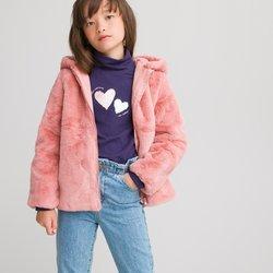 Μαλακό παλτό με κουκούλα, 3-12 ετών