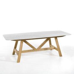 Τραπέζι με μαρμάρινη κορυφή Buondi από τον E. Gallina